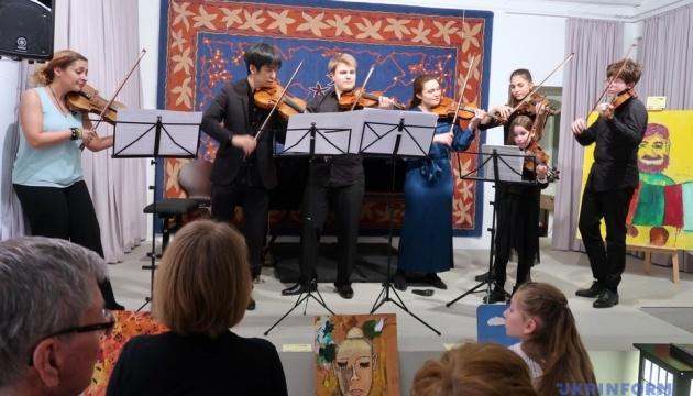 У Берліні пройшли мистецькі акції допомоги дітям Донбасу