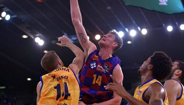 """Баскетбол: Пустовий допоміг """"Барселоні"""" перемогти """"Гран Канарію"""" в чемпіонаті Іспанії"""