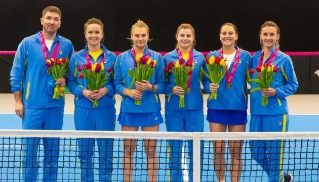Теніс: визначилася команда-суперниця українок у плейофф Кубка Федерації