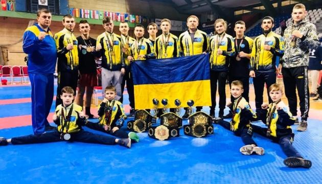 Українські кікбоксери виграли 13 золотих медалей на Кубку Європи