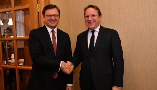Єврокомісар Варгеї у Києві обговорив імплементацію Угоди про асоціацію