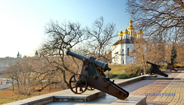 Черниговщина: туристическая карта