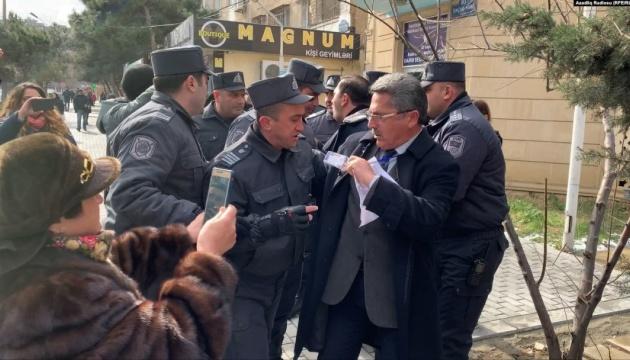 Поліція розігнала акцію опозиції в Баку, затримавши лідерів опозиції