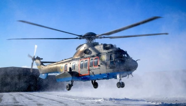 Нацгвардійці тренувалися керувати вертольотами Airbus