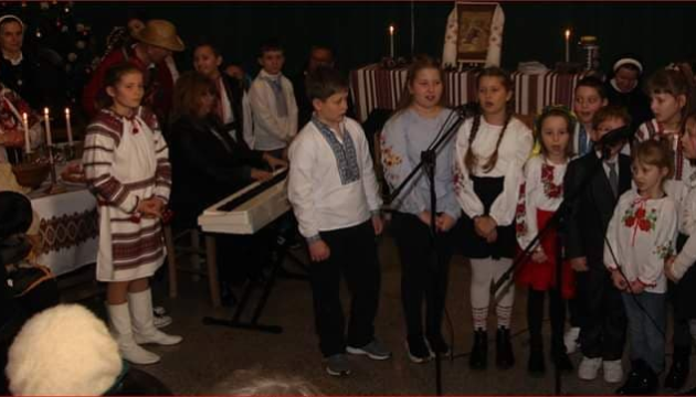 В Афінах українці відсвяткували Розколяду