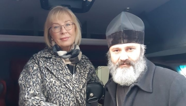 Денісова зустрілася з Климентом, якого не пускають до політв'язня Приходька в Криму
