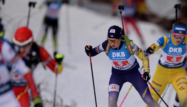 Україна визначилася зі складом на першу гонку чемпіонату світу з біатлону