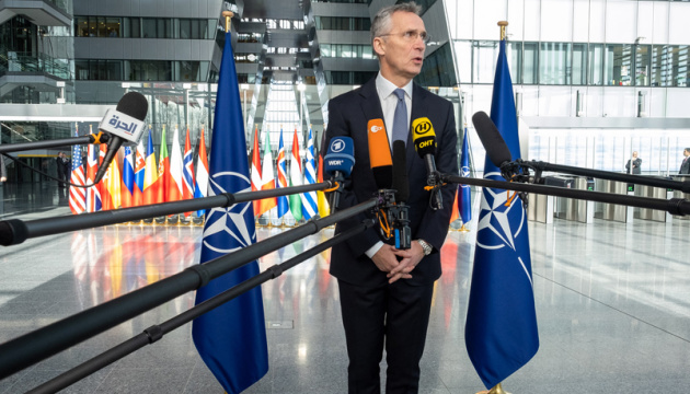 Stoltenberg reaffirms support for Ukraine, hails progress