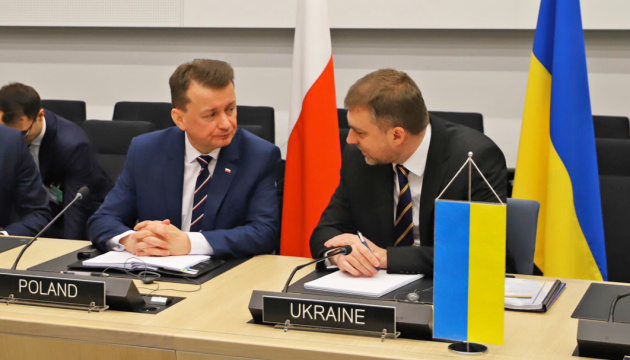 Defense ministers of Ukraine and Poland discuss cooperation