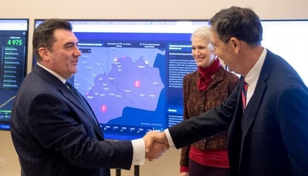 Секретар РНБО зустрівся з представниками Атлантичної ради