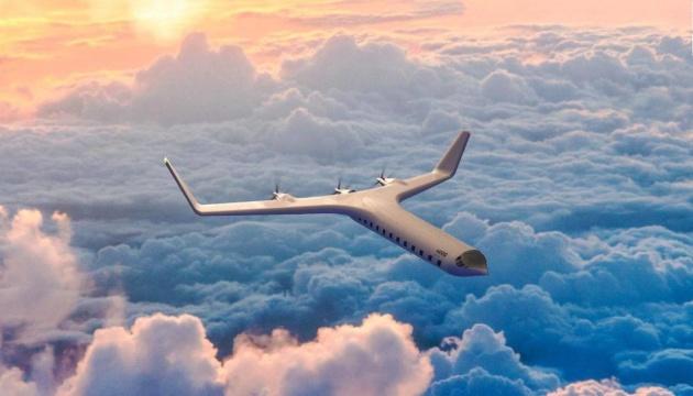 У США представили концепцію футуристичного е-літака