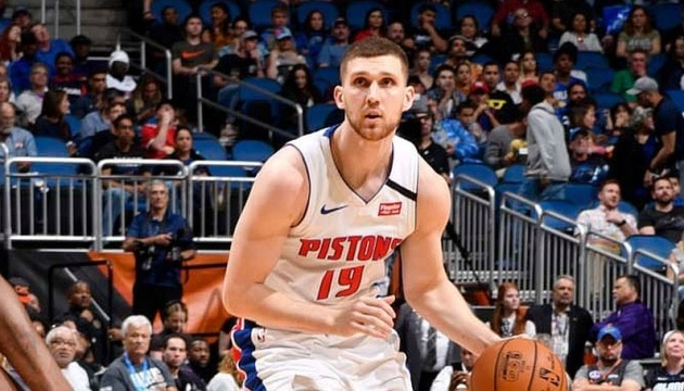 Михайлюк провел первый матч в НБА после восстановления, набрал 8 очков