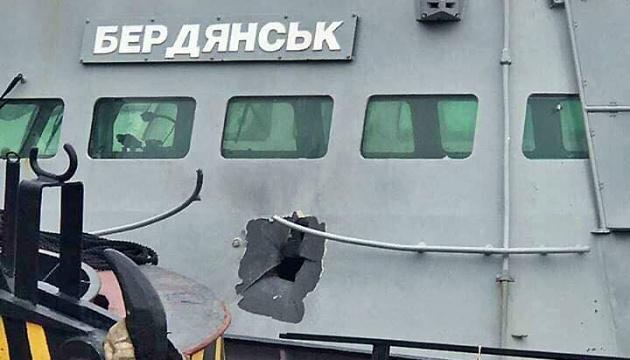 """Russischer Kampfhubschrauber traf Marineboot """"Berdjansk"""" mit panzerbrechendem Geschoss – Ukraine-Vertreter bei OSZE"""