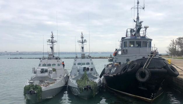 Ukraine at OSCE: Berdyansk boat was hit from Russian helicopter