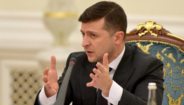 Зеленський: Наступ окупантів - це спроба зірвати мирний процес на Донбасі
