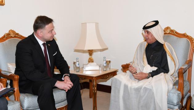 Новый посол Украины начал дипмиссию в Катаре