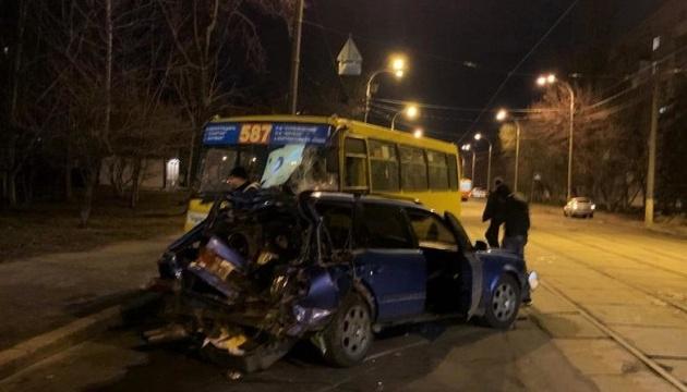 ДТП із маршруткою в Києві: поліція заявляє, що водій Audi був п'яний