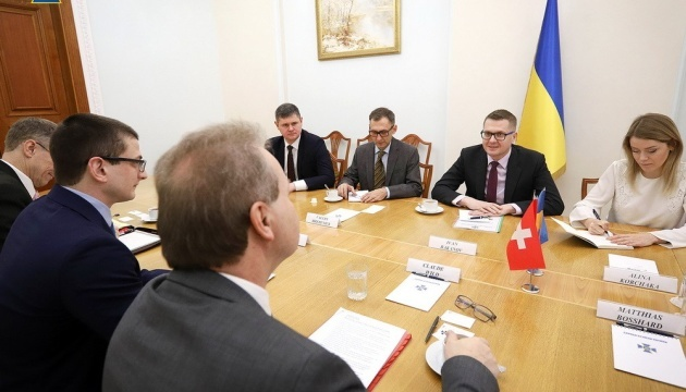 Chief of Ukraine's Security Service, Ambassador of Switzerland discuss security cooperation