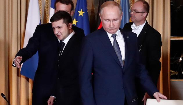 Präsident Selenskyj telefoniert mit Putin