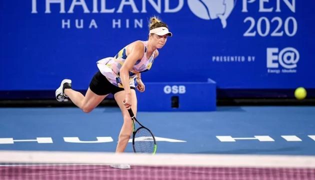 Світоліна залишить ТОП-5 рейтингу WTA після поразки в Хуахіні