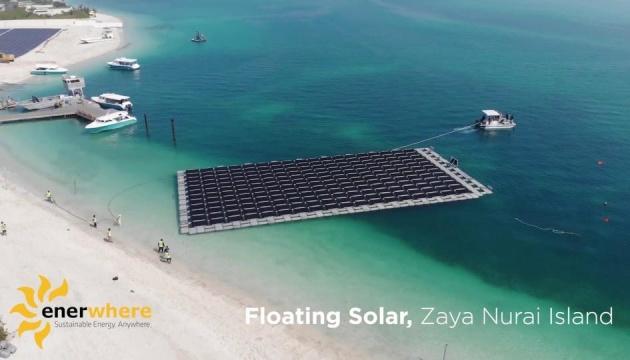 В ОАЕ тестуватимуть плавучі сонячні панелі