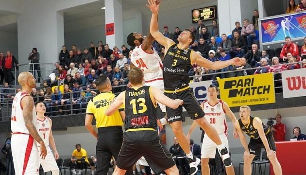 Суперліга: «Київ-Баскет» переміг «Прометей»