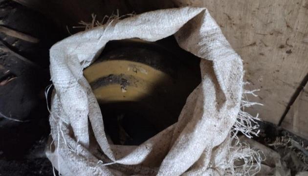 На Луганщині виявили схрон з протитанковими мінами