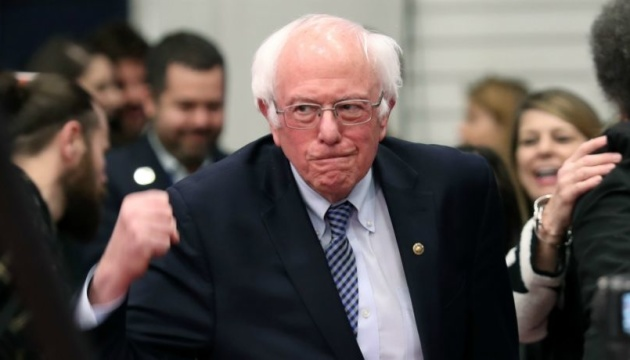 Сандерс випередив інших кандидатів у праймеріз від демократів