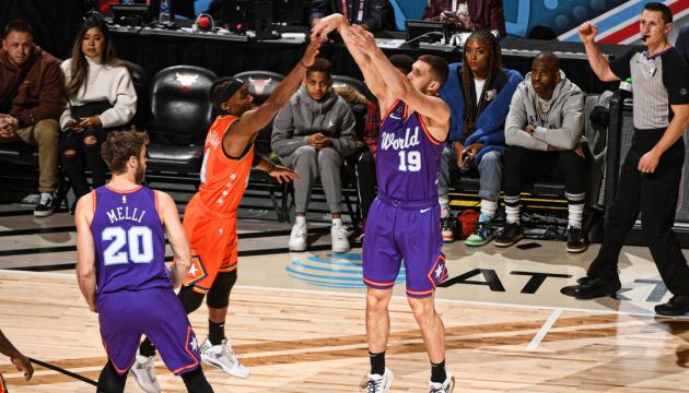 Украинец Михайлюк набрал 6 очков в Матче восходящих звезд НБА