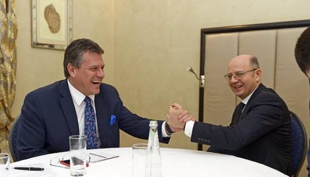 ЄС невдовзі отримає каспійський газ - Шефчович