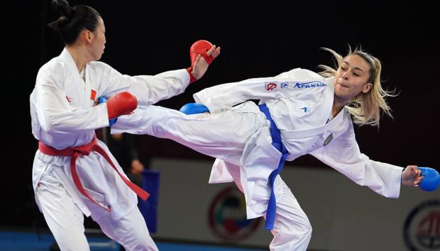 Терлюга виграла першу в історії України олімпійську ліцензію з карате