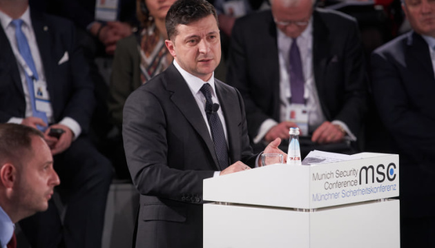 Discurso del presidente Zelensky en la Conferencia de Seguridad de Múnich