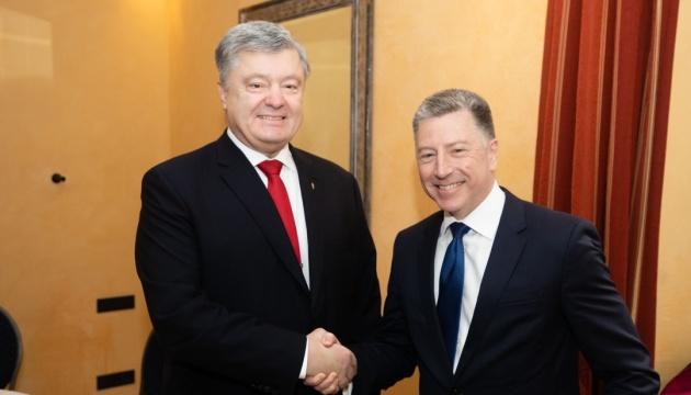 Порошенко і Волкер висловили занепокоєння тенденцією щодо міжнародної реабілітації Росії