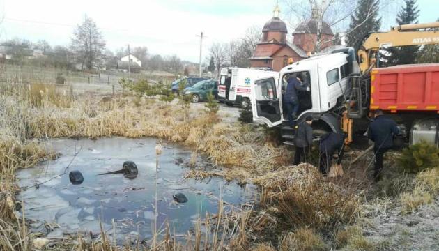 На Львівщині з водойми витягли Audi з чотирма тілами