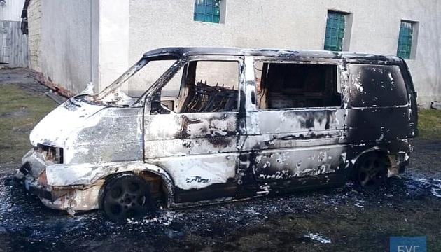 На Волыни сгорел автомобиль священника ПЦУ - подозревают поджог