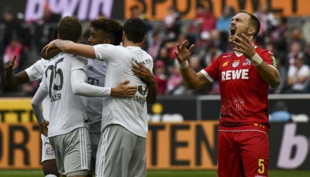 «Бавария» победила «Кельн» и снова лидирует в Бундеслиге