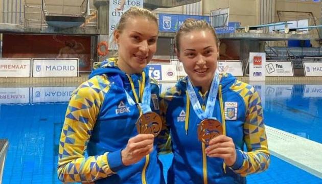Українські стрибунки у воду вибороли