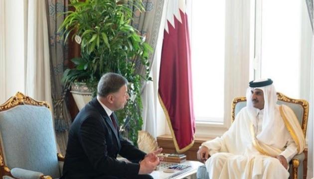 Новый посол Украины вручил верительные грамоты эмиру Катара