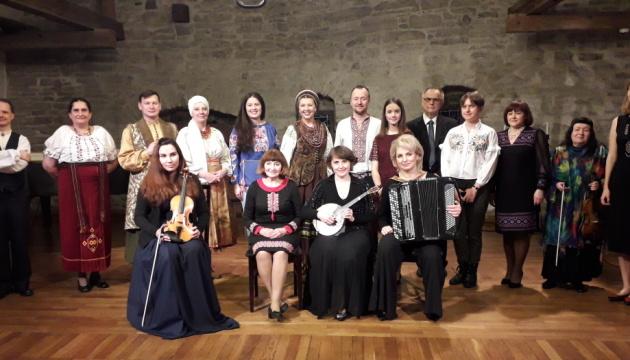 Українці Естонії провели в Таллінні великий концерт до Дня Незалежності країни