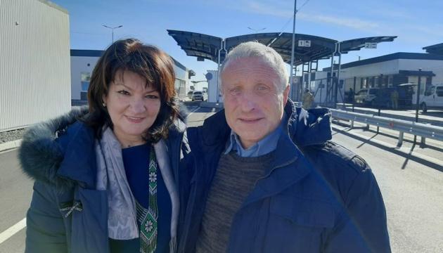 Політв'язень Семена вже на підконтрольній Україні території