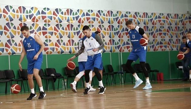 Баскетболісти збірної України потренувалися перед стартом євровідбору