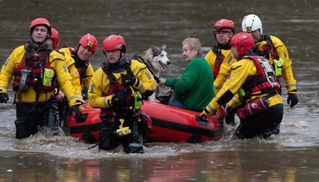 У Британії проводять евакуацію через загрозу нових повеней
