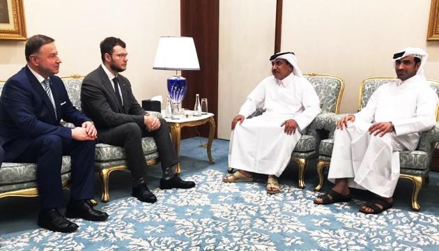Україна поглиблює співпрацю з Катаром у транспортній інфраструктурі