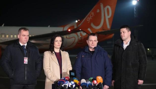 Самолет для эвакуации украинцев вылетел в китайский Ухань