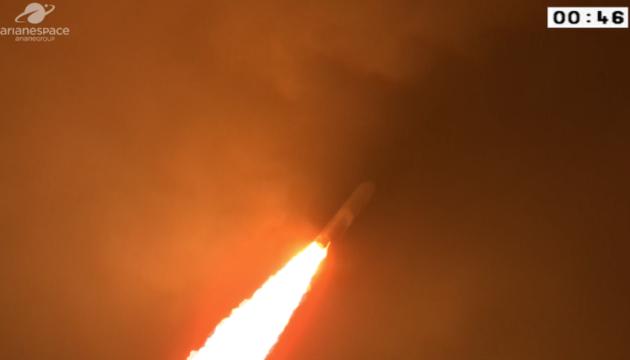 Европейская ракета Ariane 5 вывела на орбиту два спутника