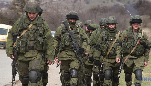 Російські окупанти проводять стрільби в анексованому Криму