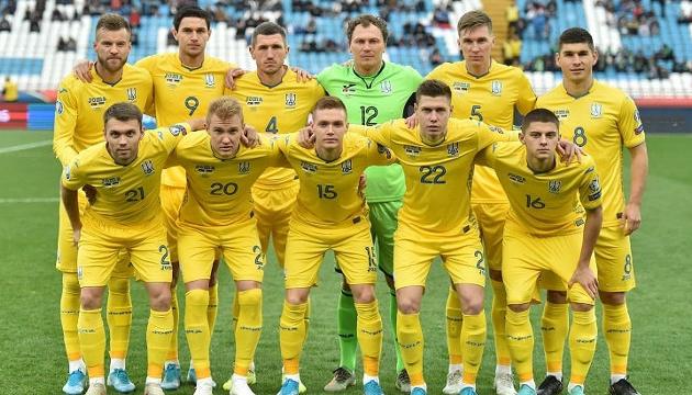Сборная Украины входит в 25 сильнейших команд в рейтинге ФИФА