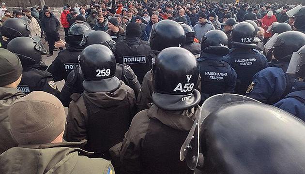 Задержанного участника протестов в Новых Санжарах суд отправил под ночной домашний арест
