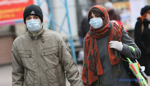 Kyiv records growth in number of people ill with flu and ARVI