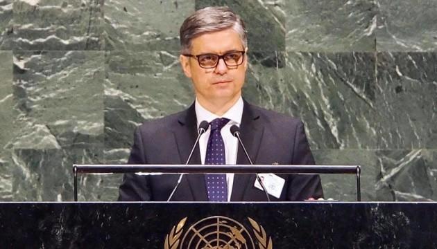 Генасамблея ООН є вирішальним елементом міжнародного тиску на РФ - Пристайко
